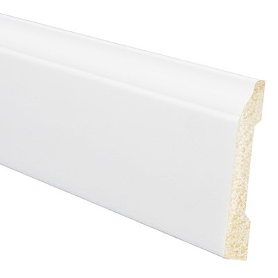 Inteplast Building Products 12 Packs 8 WHT OG Base Molding