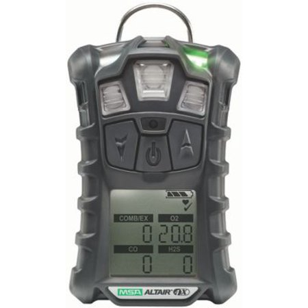Msa Safety 10107602 Altair 4X Multigas Detector  Lel  O2  Co  H2s  Charcoal