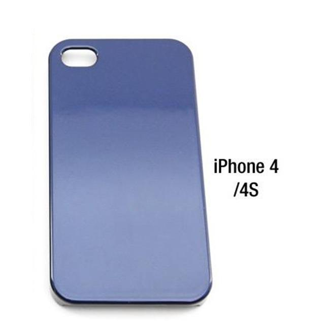 Bimmian BICAA4A76 Vehicle Colored Painted iPhone Cases - iPhone 4 & 4S, Deep Sea Blue Metallic A76