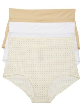 Warner's Womens No Pinching. No Problems. Brief 3-Pack Style-5738J3