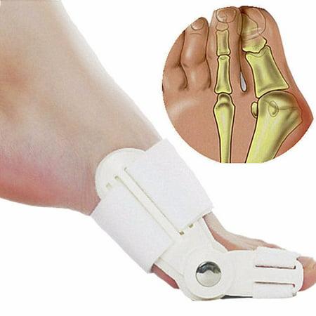 Pinkiou 1 Pair Big Bone Toe Hallux Valgus Bunion Splint Corrector Foot Pain Relief Orthotics Pro for Pedicure Orthopedic Braces Feet