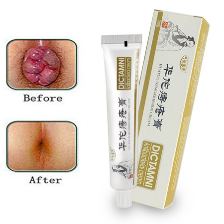 Chinese Herbal HuaTuo Hemorrhoids Cream Anus Prolapse Anal Fissure Bowel Bleeding Antibacterial