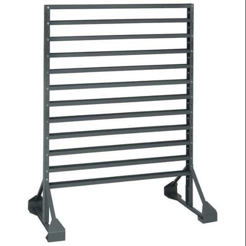 QUANTUM STORAGE SYSTEMS QRU-12D Floor Rack, Double Side, 12 Rail, 36x20x53