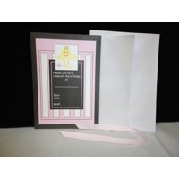 Charmed Little Princess Birthday Invitation; Pink; 10 pieces set