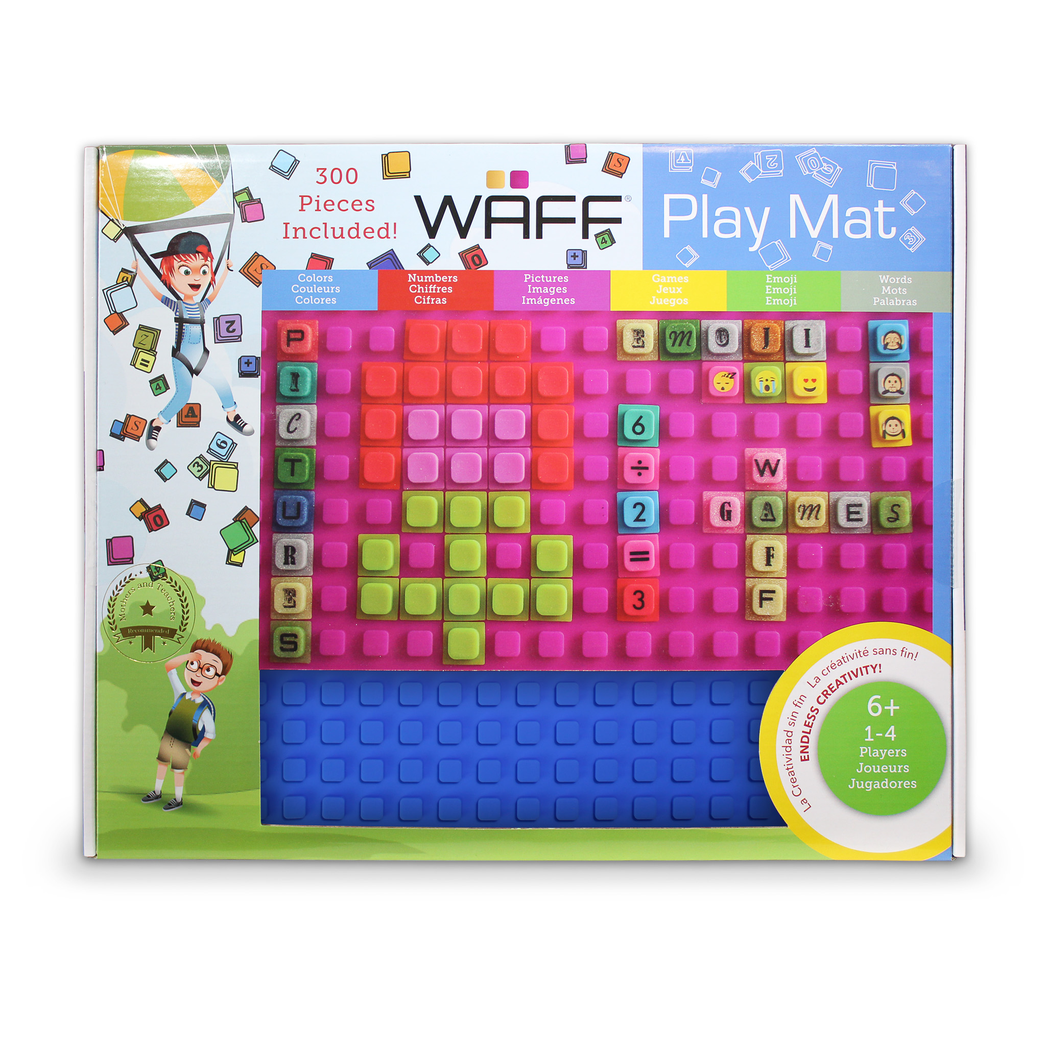 WAFF Playmat - Blue