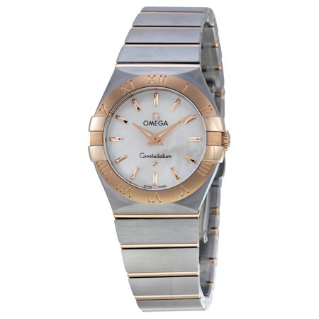 Omega Constellation Mother of Pearl Dial Ladies Watch 12320276005001