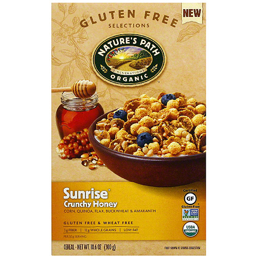 en Free Selections Sunrise Crunchy Honey Cereal, 10.6 oz (Pack of 6)