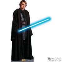 Advanced Graphics Anakin Skywalker Life Size Cardboard Cutout Standup - Star Wars Prequel Trilogy