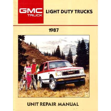 Bishko OEM Repair Maintenance Shop Manual Bound for Chevy Truck C/K 10-30, G&M Van, Suburban, Jimmy, Motor Home Overhaul 1987 06 Chevy Suburban Manual