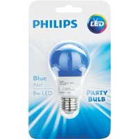 Philips LED Light Bulb, Blue, 60 WE