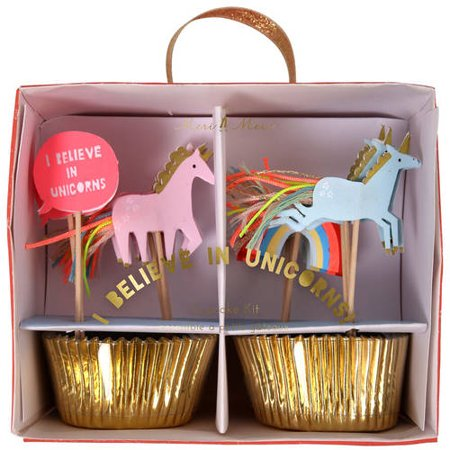 Unicorn Cupcake Kit Walmartcom