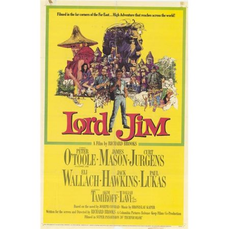 Posterazzi MOVAH9364 Lord Jim Movie Poster - 27 x 40 (Jim Movie Poster)