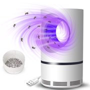 Jeobest Electric Mosquito Killer Lamp LED - USB Insect Zapper Mosquito Trap Indoor - Electric Fly Bug Zapper Mosquito Insect Killer LED Light Trap Pest Control Lamp Electronic Mosquito Killer MZ