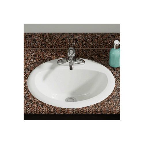 Buy Polaris Sinks P8102ow White Overmount Bathroom Sink Online In Egypt 24812648