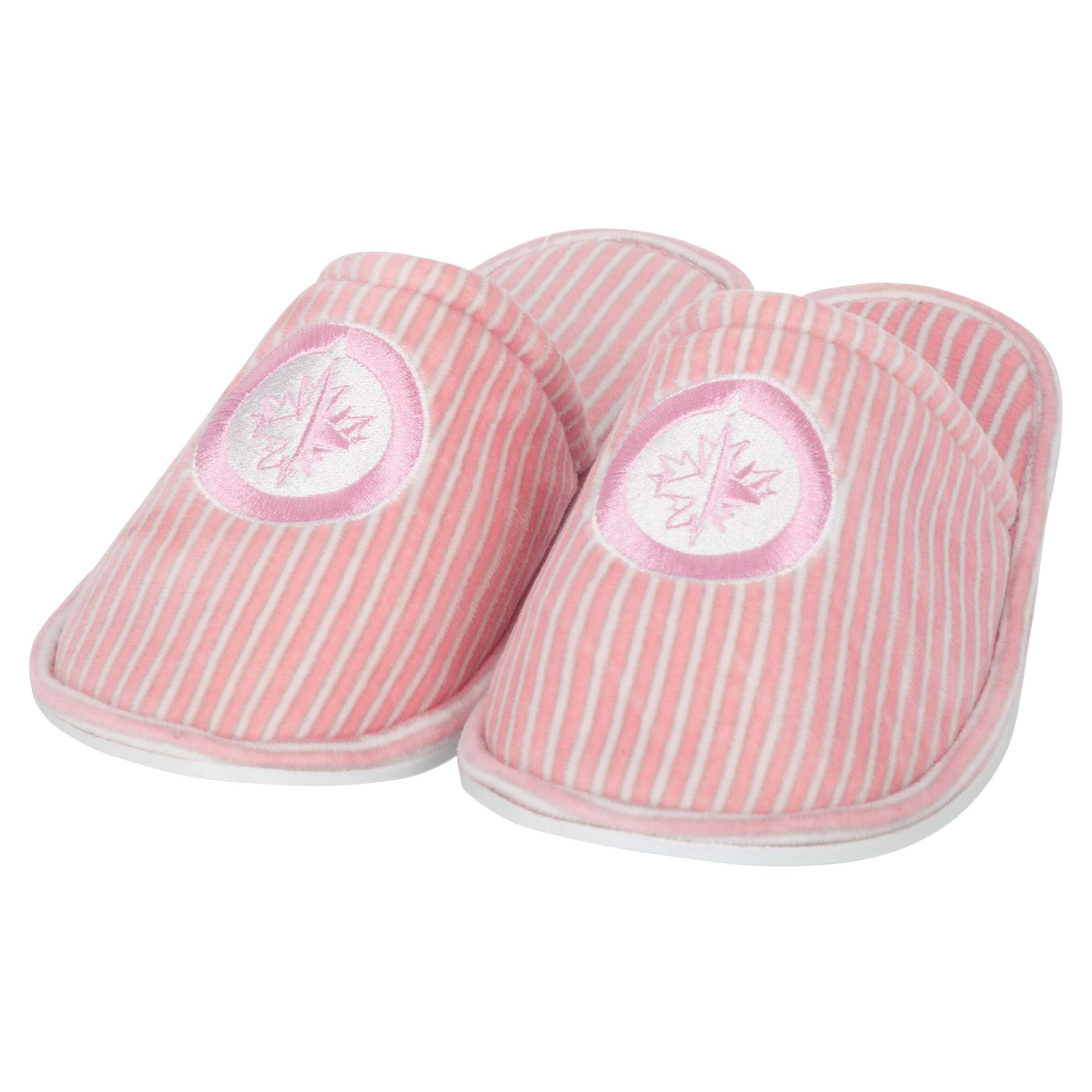 Winnipeg Jets Women's Slide Slipper - Pink