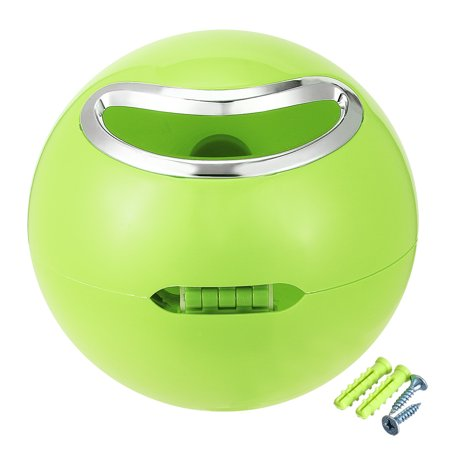 Abs Plastic Green - Uxcell 180mm Dia ABS Plastic Green Dual-Purpose Round Toilet Roll Paper Holder