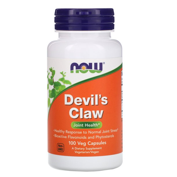 NOW Foods - Devil's Claw Joint Health - 100 Veg Capsules