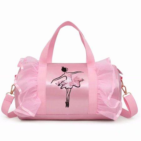 b91606a65914 Akoyovwerve - Children Girls Dance Ballet Backpack Tutu Barbie Dance ...