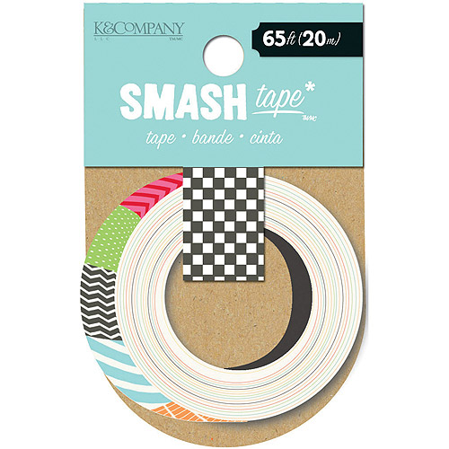 K & Company SMASH Tape, Swatch
