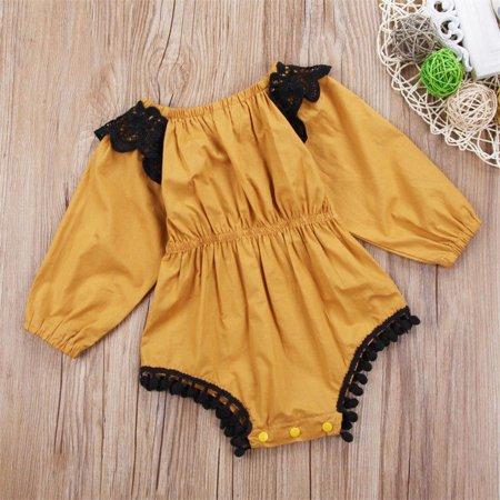 1560f4eac82 Newborn Infant Baby Girl Romper Floral Bodysuit Sunsuit Summer Clothes  Outfits - Walmart.com