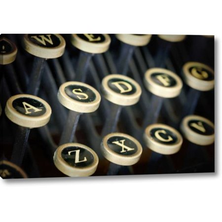 - Williston Forge 'Wa, Seabeck Remington Standard Typewriter Keys' Photographic Print on Wrapped Canvas