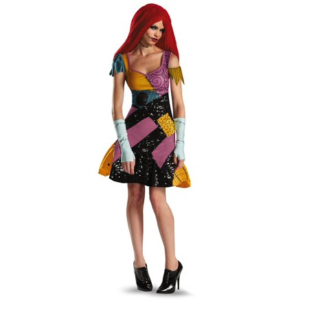Disguise Tim Burtons The Nightmare Before Christmas Sally Glam Adult Costume](Sally The Nightmare)