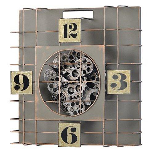 Cooper Classic Gibson Gear Oversized Wall Clock