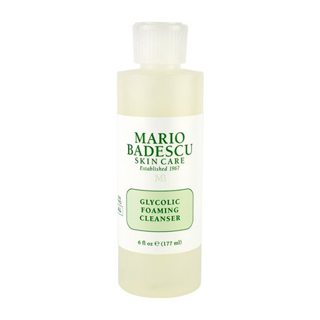 Mario Badescu Skin Care Glycolic Foaming Cleanser Face Wash For All Skin Types 6 Oz