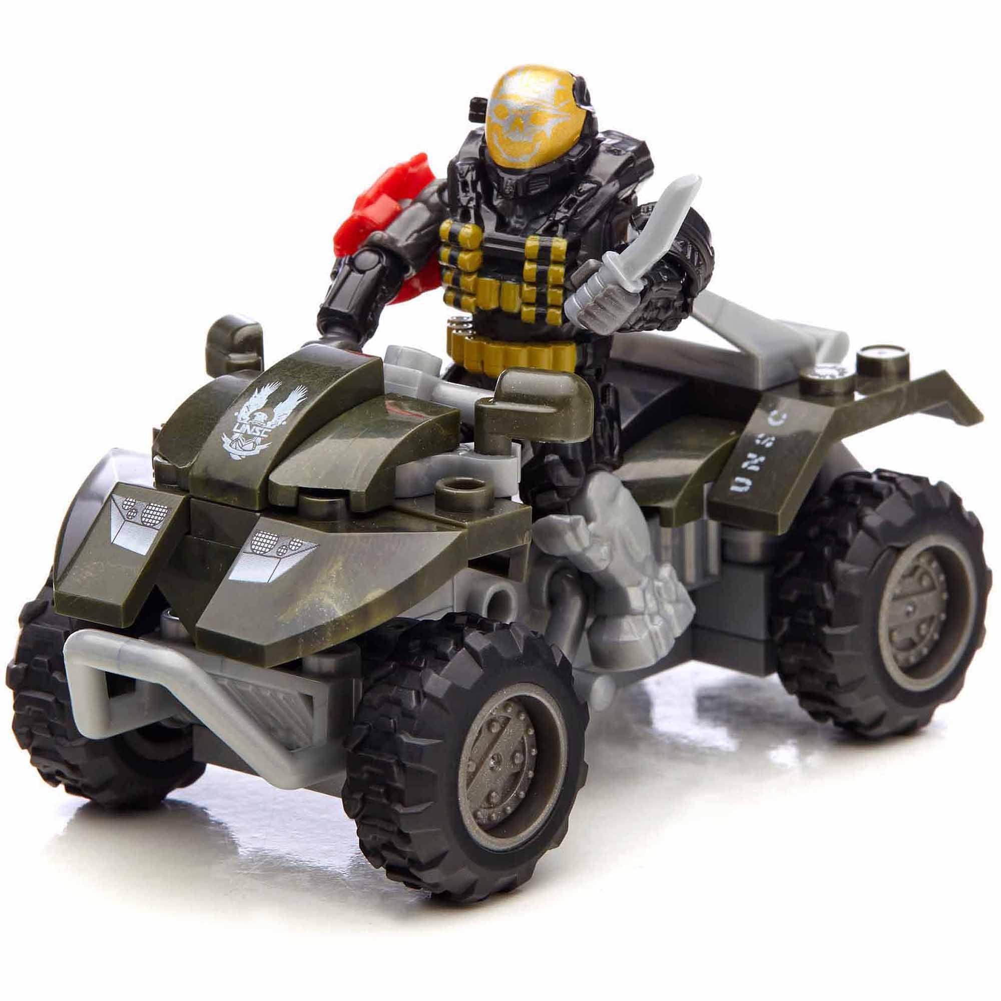Mega Bloks Halo UNSC All-Terrain Mongoose by