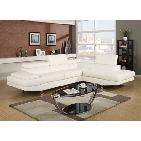 Excellent Selma White Leather Modern Sectional Sofa Cjindustries Chair Design For Home Cjindustriesco