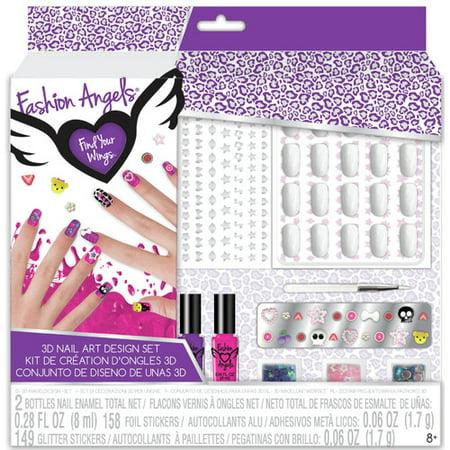 Fashion Angels 3d Nail Artist Kit Walmart