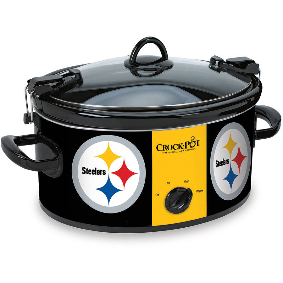 Crock-Pot NFL 6-Quart Slow Cooker, Pittsburgh Steelers
