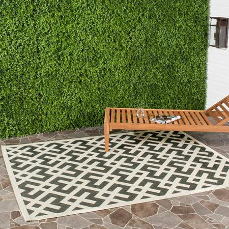 Safavieh Courtyard Alvin Geometric Indoor/Outdoor Area Rug or Runner ()