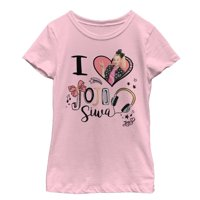 Jojo Siwa Girls' I Heart Jojo T-Shirt