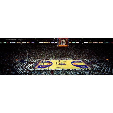 Spectators watching a basketball game, NBA 1995 All-Star Game, US Airways Center, Phoenix, Maric... Print Wall (Us Airways Store)