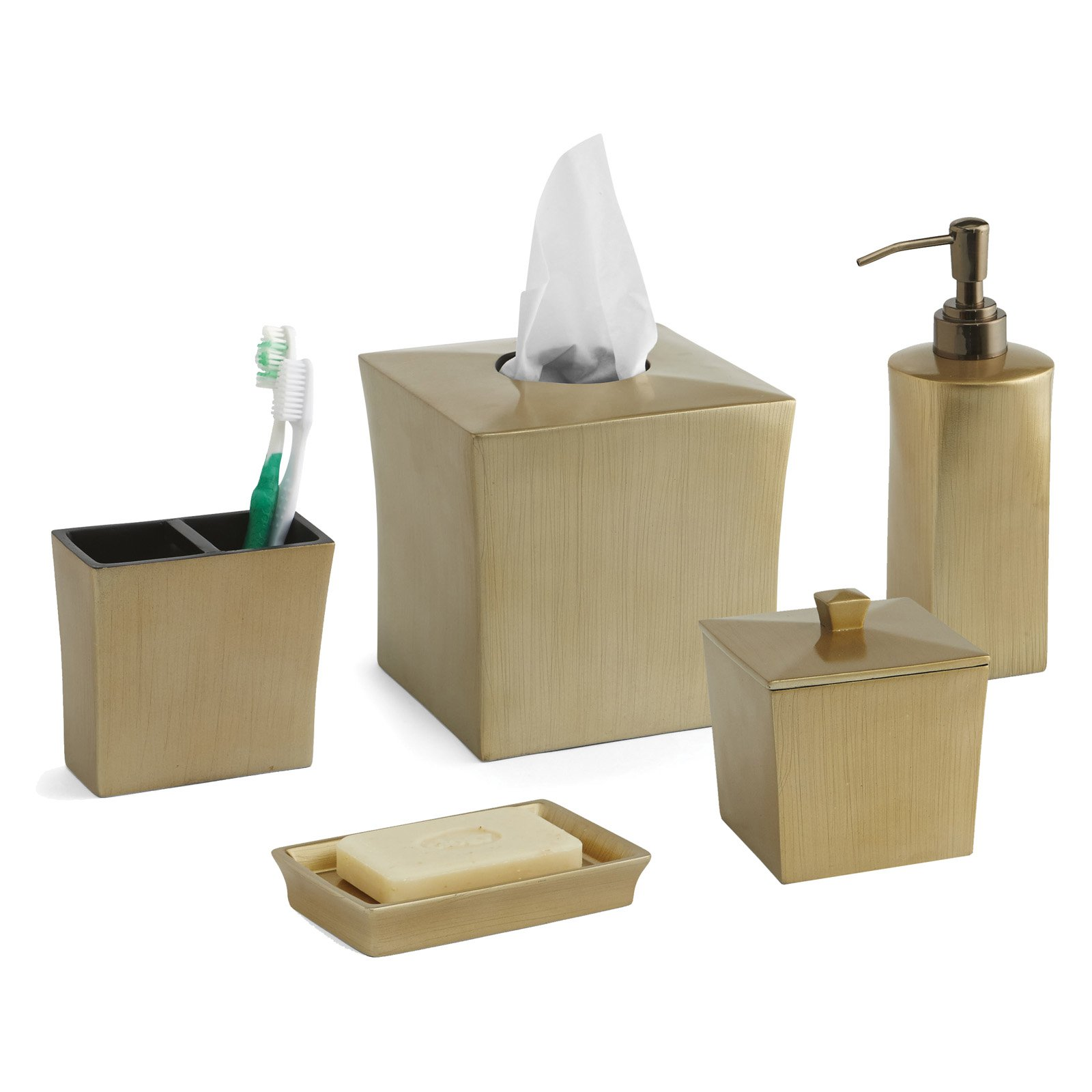 Paradigm Trends 5 Piece Cooper Bath Accessory Set by