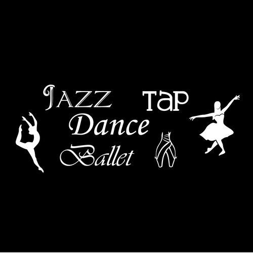 Fireside Home Dance Set - Dance, Jazz, Ballet, Tap Wall Decal