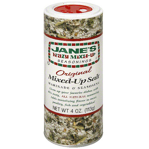 Jane's Krazy Mixed-Up Seasonings Krazy Mixed-Up Salt, 4 oz (Pack of 12) by Generic