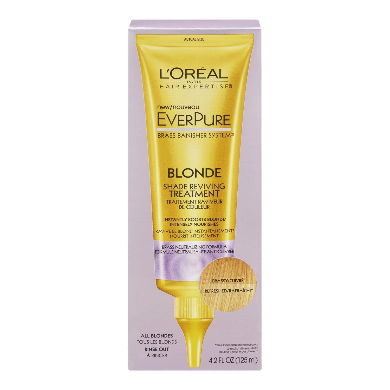L'Oreal Paris Hair Expertise EverPure Blonde Shade Reviving Treatment 4.2 oz
