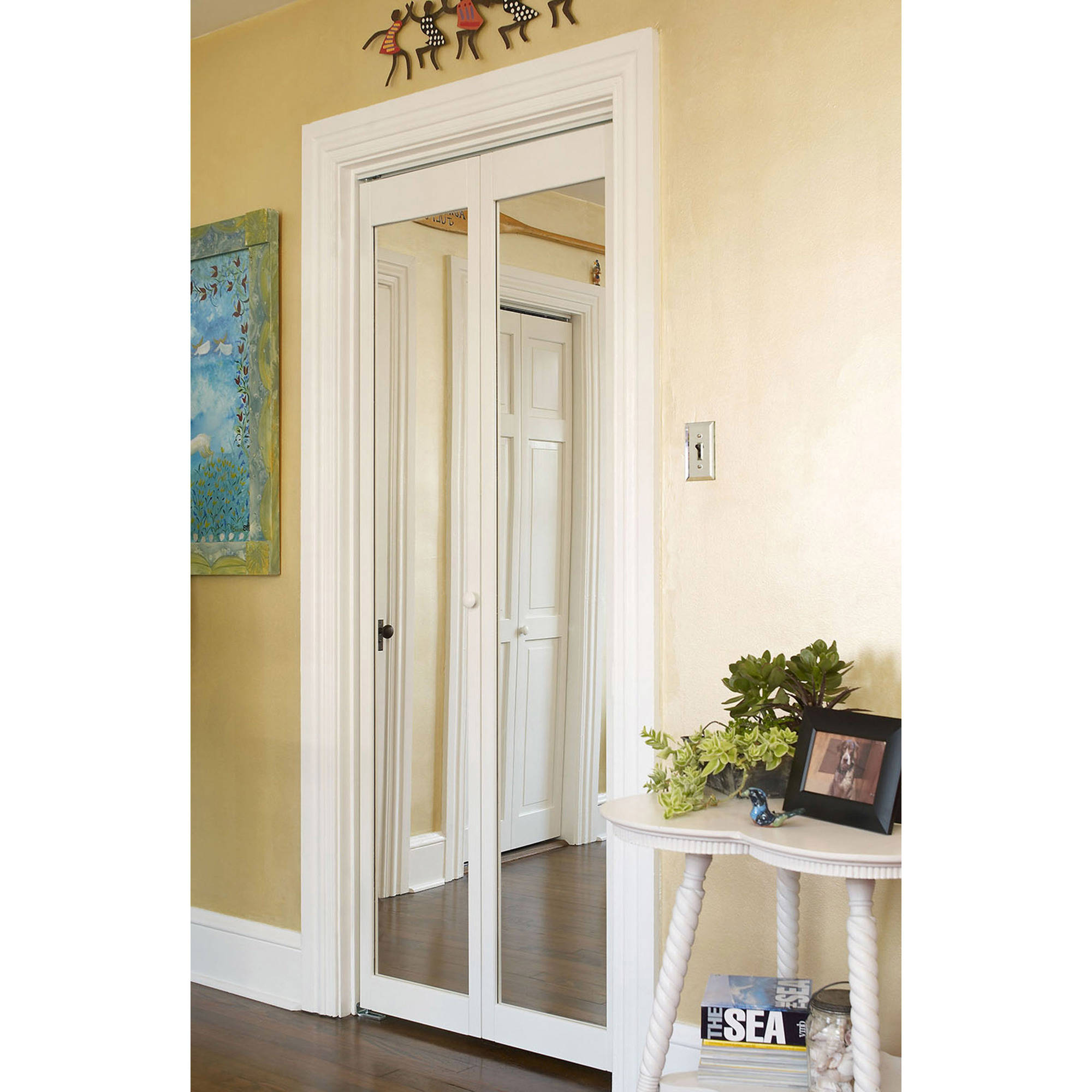 Superieur AWC 907 Traditional Mirror Bifold Door