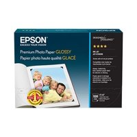 Epson Premium - High-glossy - resin coated - 10.4 mil - bright white - 4 in x 6 in - 252 g/m - 68 lbs - 100 sheet(s) photo paper - for Expression ET-3600; Expression Home XP-434; Expression Premium