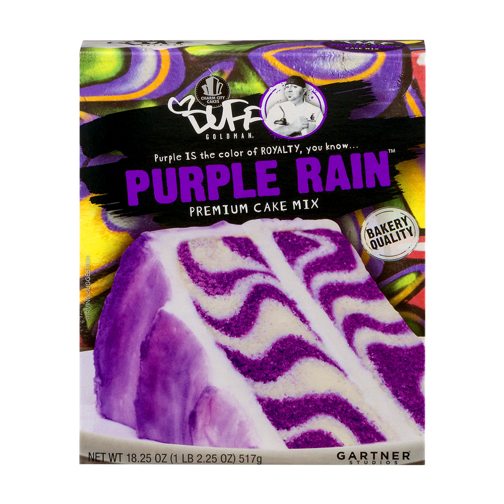 Duff Goldman Purple Rain Premium Cake Mix, 18.25 OZ
