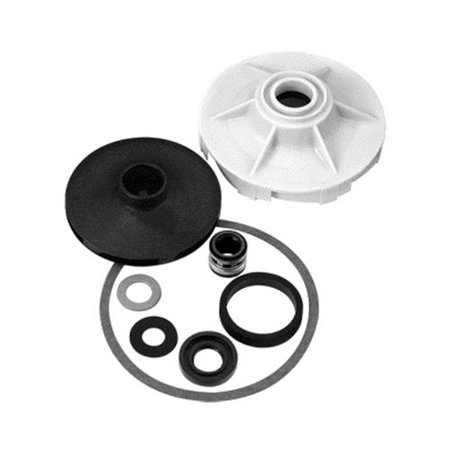 PENTAIR WATER Overhaul Repair Kit For 0.5-HP Cast-Iron Shallow-Well Jet -