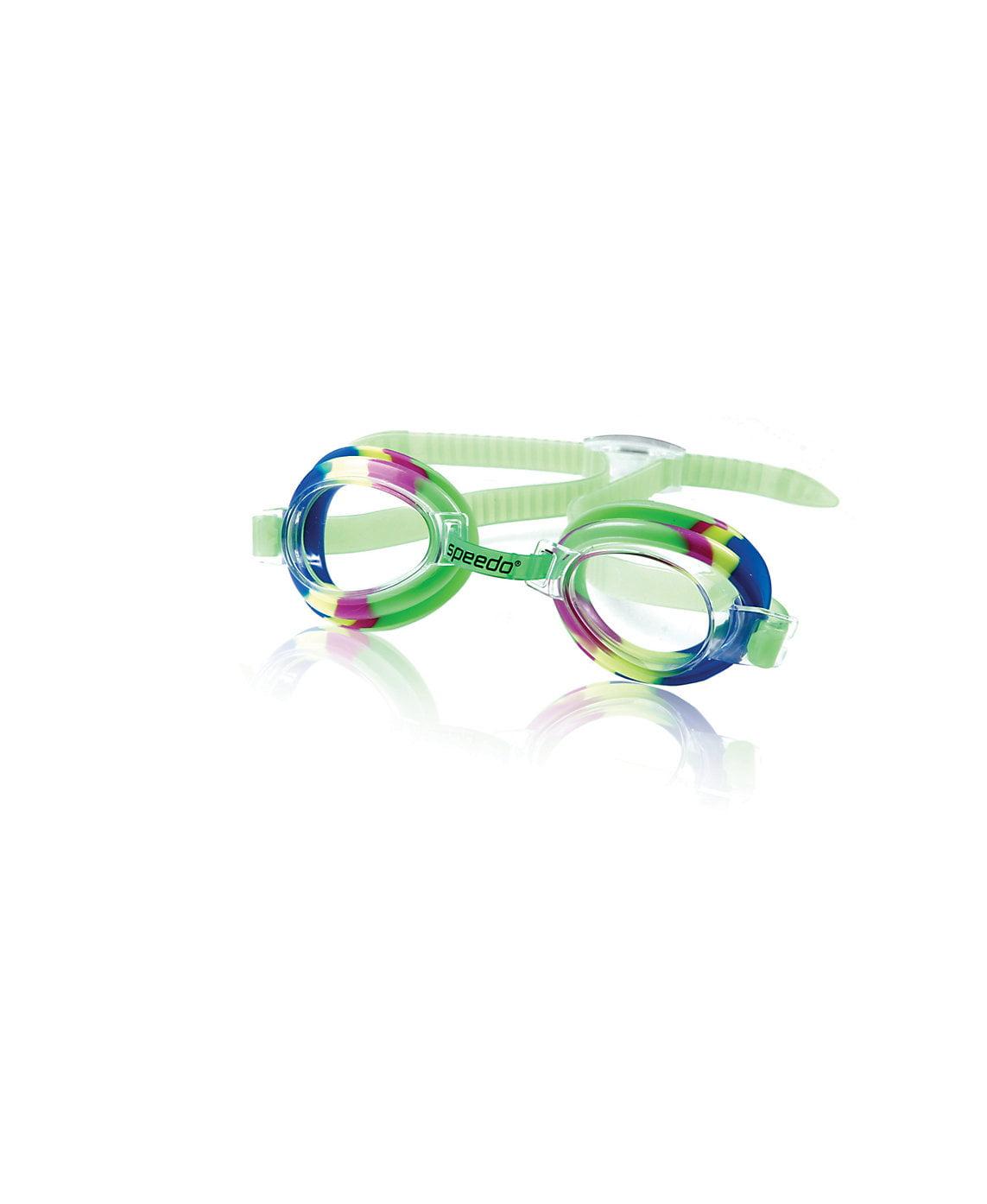 Speedo Kids Jr. Swim Swimming Tye-Dye Anti-Fog UV Protection Splasher Goggles by Speedo