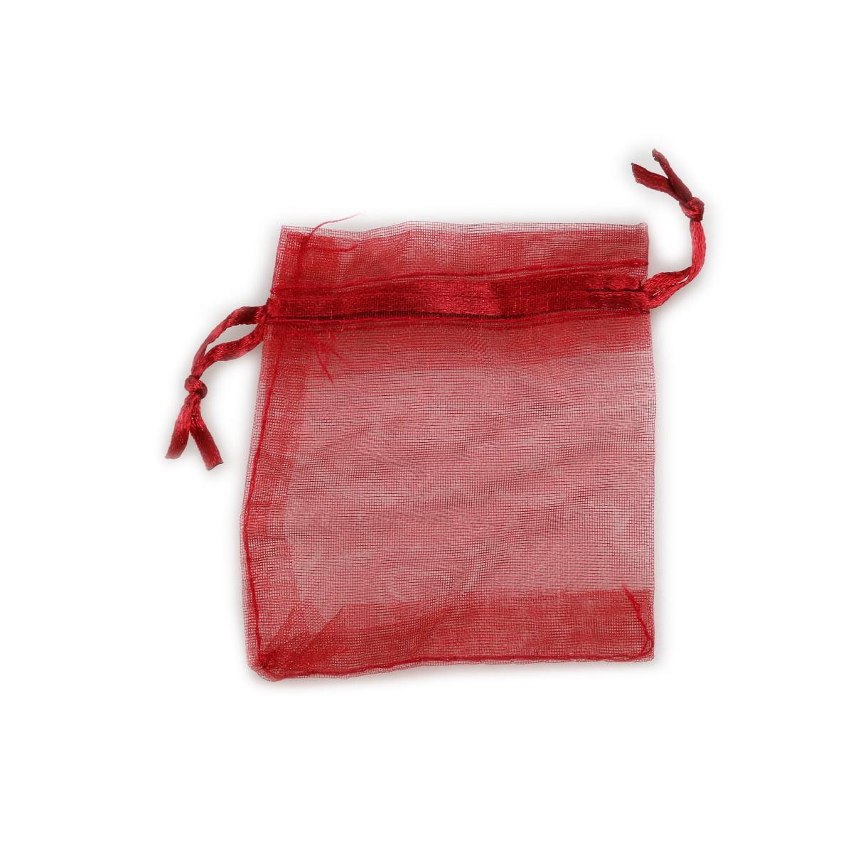 100pcs 7*9cm Organza Drawstring Gift Bags Wedding Favor Bags ...