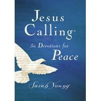 Jesus Calling(r): Jesus Calling 50 Devotions for Peace (Hardcover)