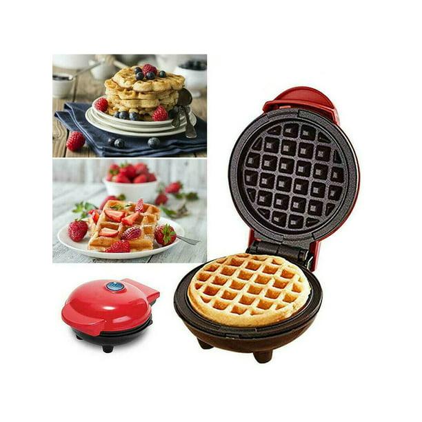 Mini Waffle Maker Kitchen Electric NonStick Pancake Snack Machine Baking