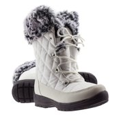 ArcticShield Women's Waterproof Memory Foam Fur Winter Snow Boots