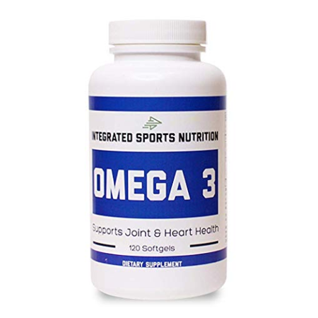 Integrated Sports Nutrition, Omega 3 Fish Oil, 2000mg, 120 Softgels ()