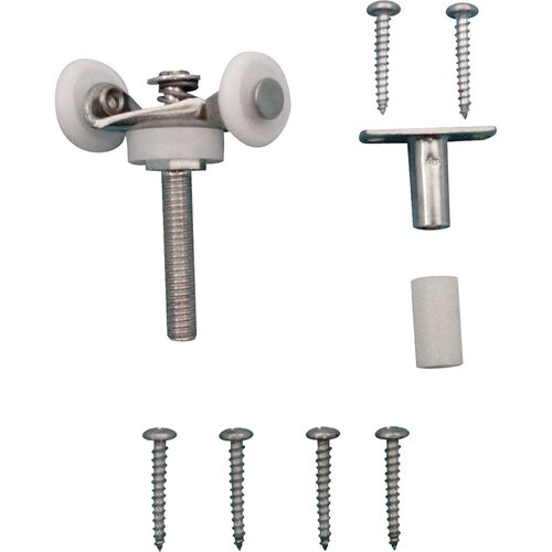 Prime-Line Products N 6534 Top Mount Bi-Fold Door Tandem Roller with 7/8-Inch Nylon Wheels